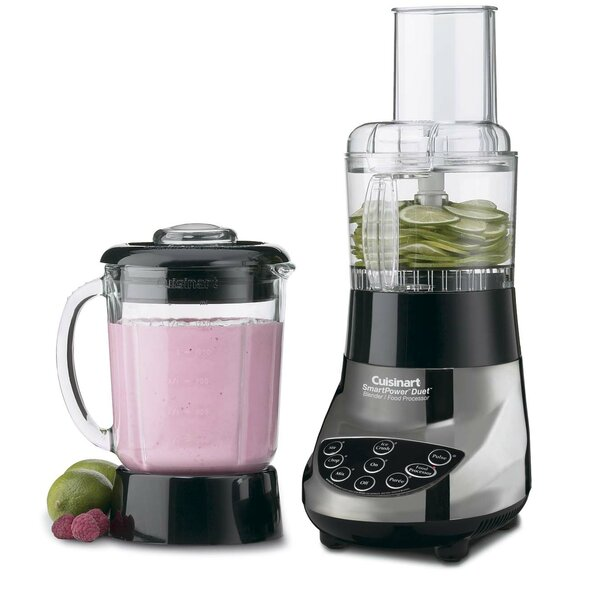 Smartpower Duet Blender Food Processor By Cuisinart.