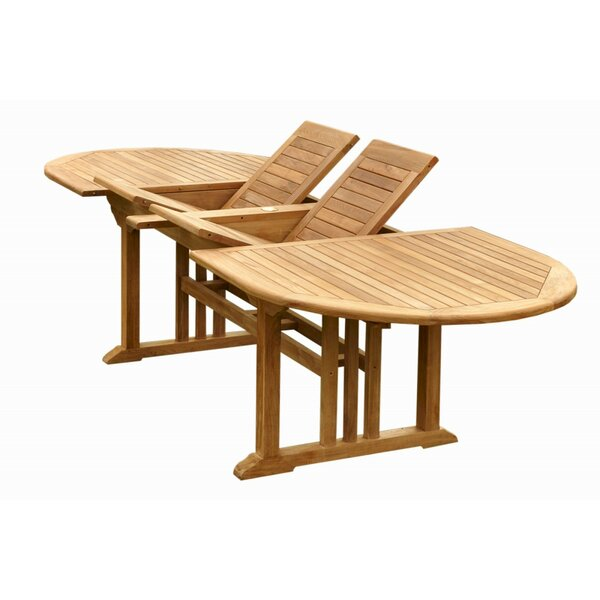 Sahara Solid Wood Dining Table by Anderson Teak