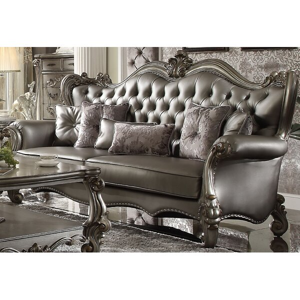 Medley Standard Sofa with 6 Pillows by Astoria Grand