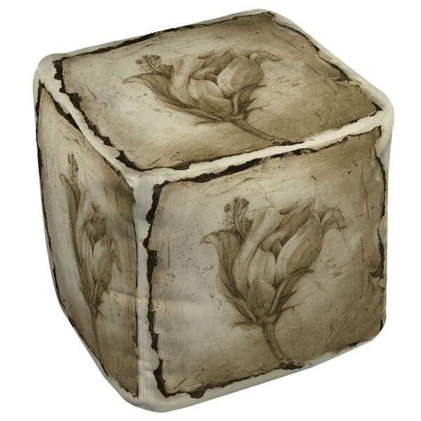 Impression 8 Pouf By Manual Woodworkers & Weavers No Copoun
