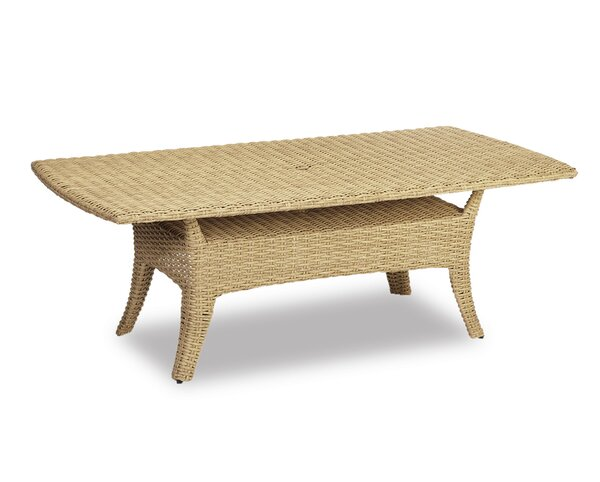 Leucadia Wicker Dining Table by Sunset West