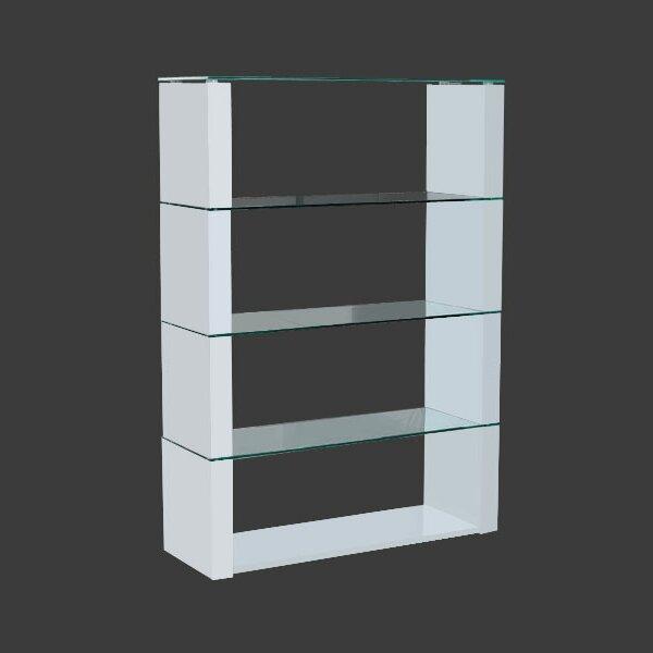Deals Clarimond Standing Divider Standard Bookcase