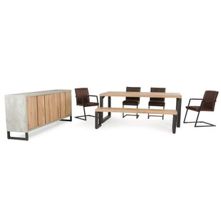 Modrest Reese 7 Piece Dining Set by VIG Furniture