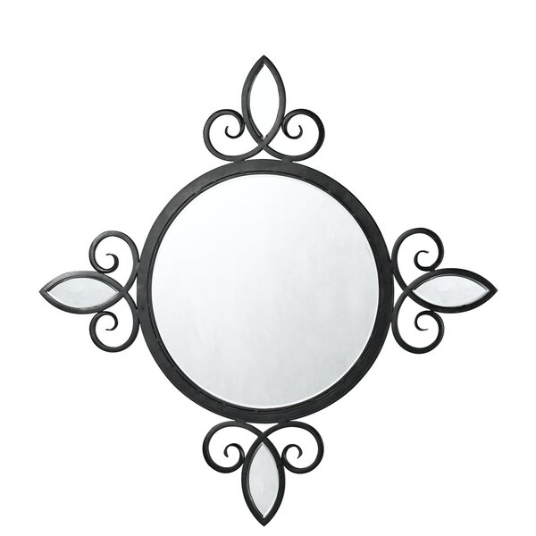 Iron Accent Mirror by Fleur De Lis Living