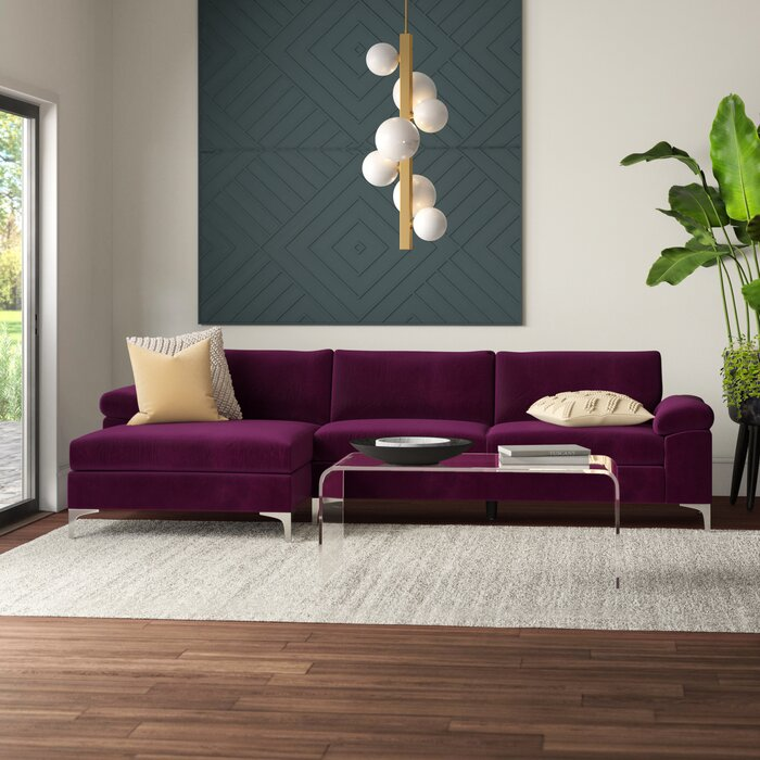 Astonishing Martello Left Hand Facing Modern Sectional Inzonedesignstudio Interior Chair Design Inzonedesignstudiocom