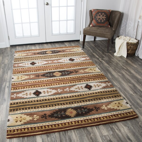 Magda Hand-Woven Wool Area Rug by Birch Lane™