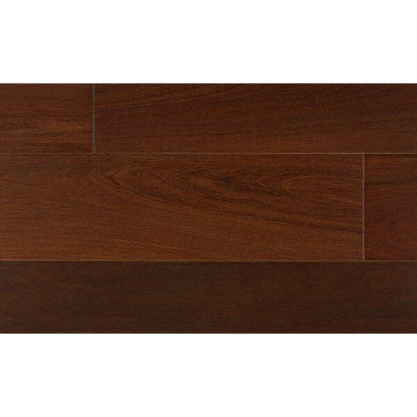 5 Engineered Brazilian Walnut Hardwood Flooring in Brown by IndusParquet