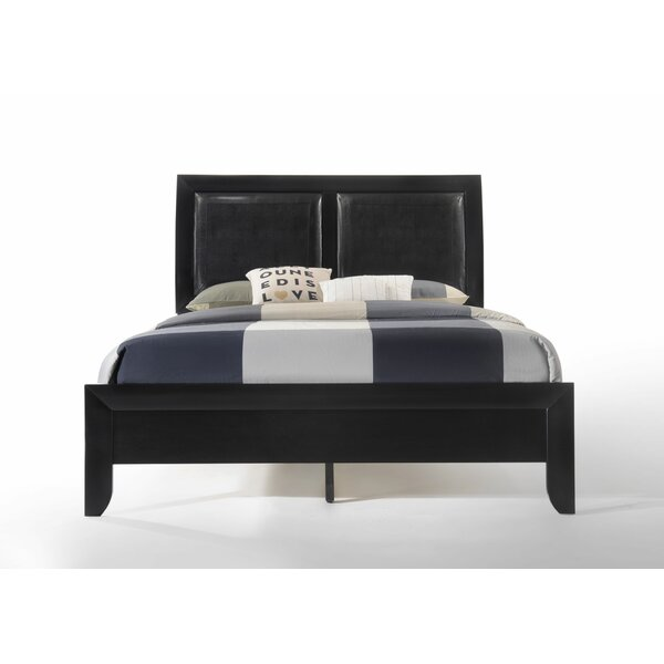 Malaika Upholstered Sleigh Bed by Red Barrel Studio