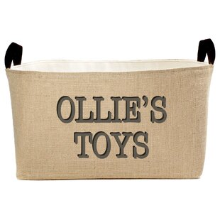 Top Personalized Toys Fabric Storage Bin By A Southern Bucket