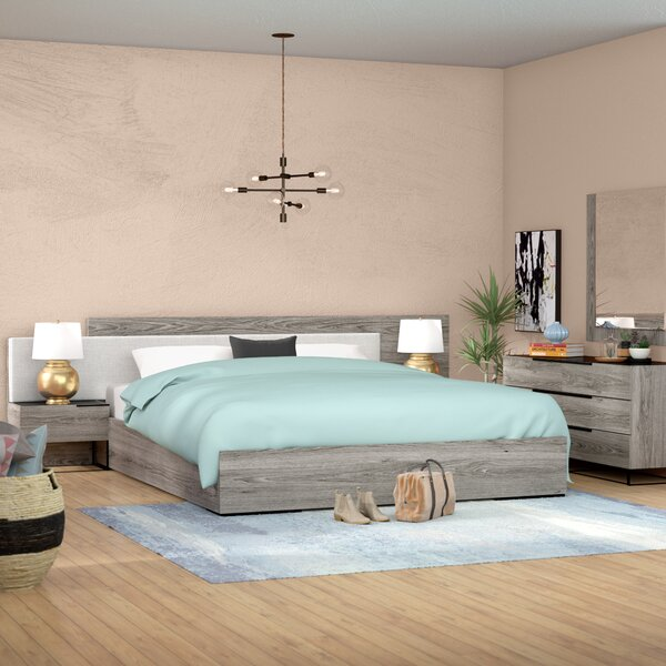 Daughtery Platform 5 Piece Bedroom Set by Brayden