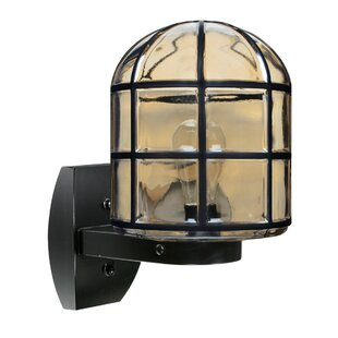 Find for Donnie 1-Light Outdoor Wall Lantern By Latitude Run