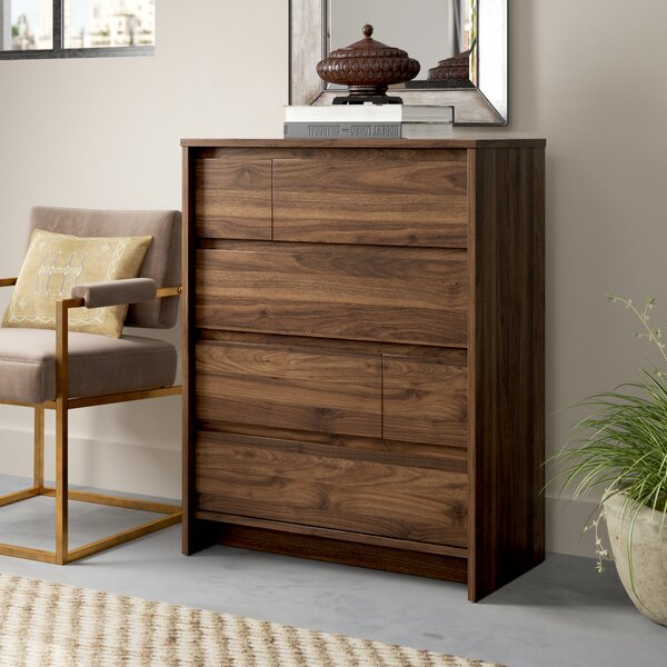 Kathi 4 Drawer Chest by Greyleigh