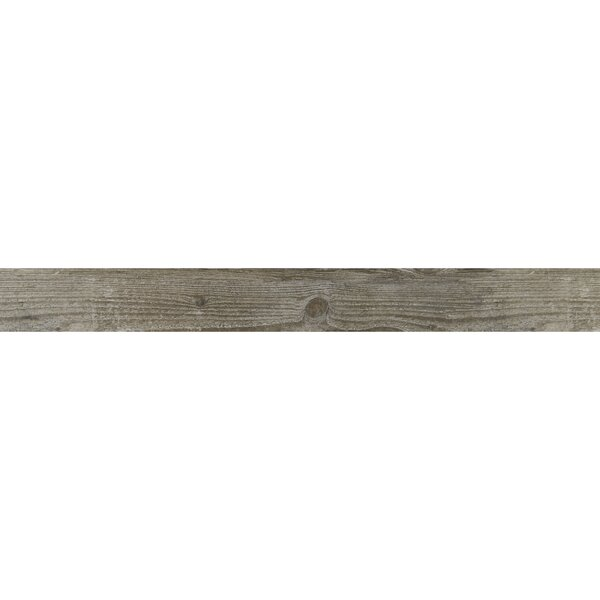 Season Wood 6 x 48 Porcelain Wood Look Tile in Orchard Grey by Daltile