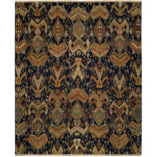 Best Reviews Rabigh Hand-Woven Brown/Black Area Rug ByWildon Home ®