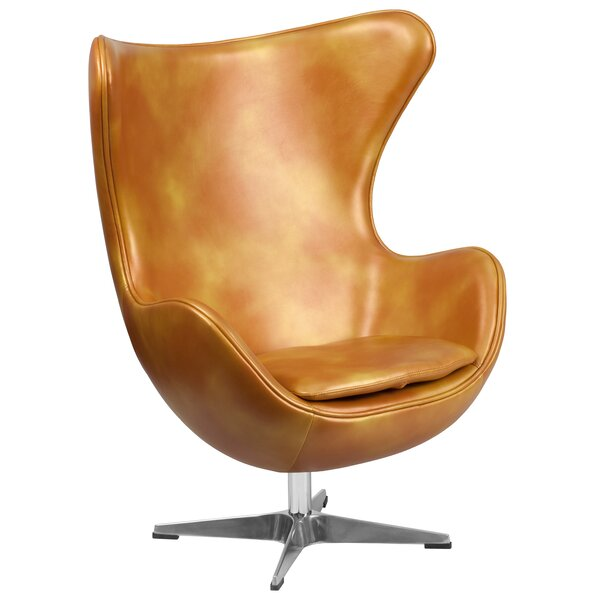 Mengni Swivel Wingback Chair by 17 Stories