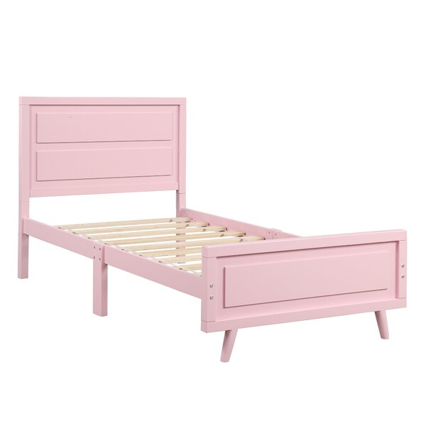 Twinsburg Wood Twin Platform Bed by Harriet Bee