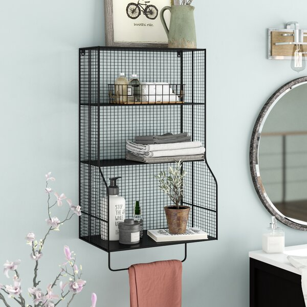 Wyble Distressed Wall Storage Organizer by Trent A