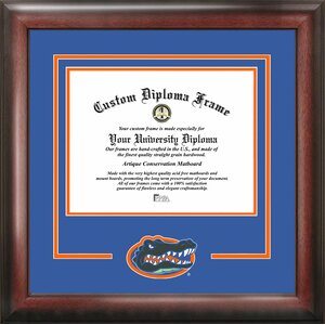 NCAA University of Florida Gators Spirit Diploma Picture Frame