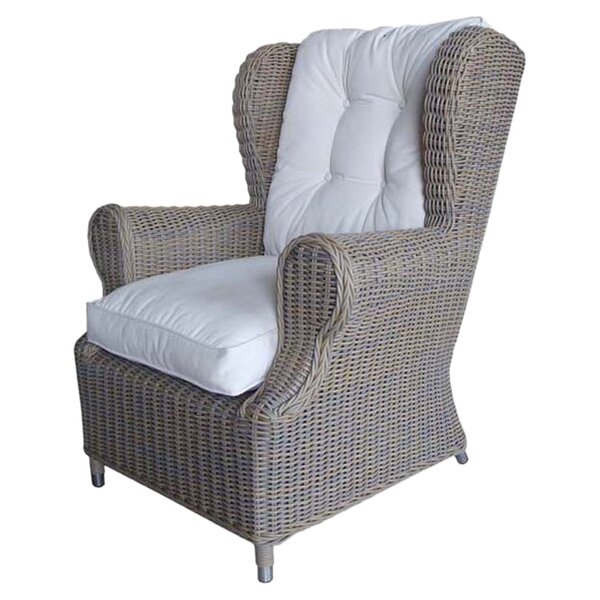Outdoor Cottage Deep Seating Patio Chair with Cushion by Padmas Plantation