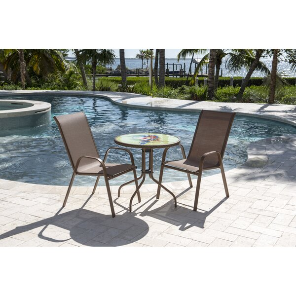 Café Bistro Set by Panama Jack Outdoor