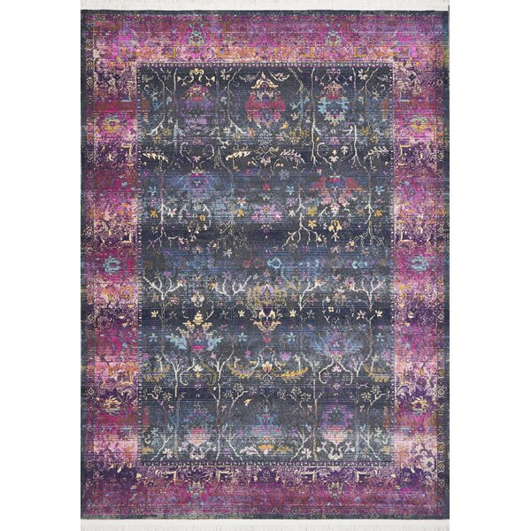 Herndon Pink/Green Area Rug by Bungalow Rose