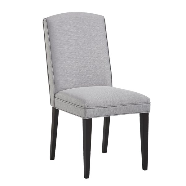 Volkman Upholstered Dining Chair (Set of 2) by Ebern Designs