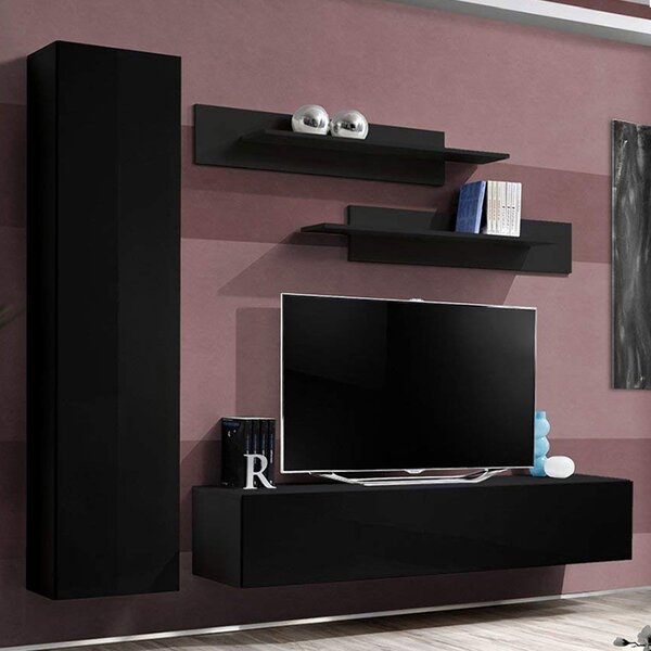 Violette Floating Entertainment Center For TVs Up To 88