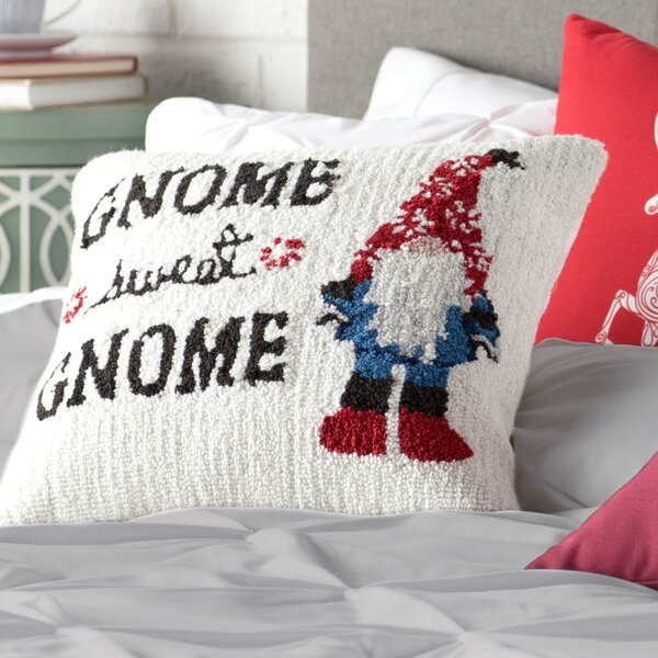 Theodora Gnome Winter Pillow Cover by Ivy Bronx