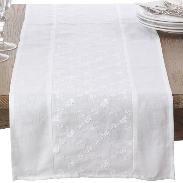 Occhiello Table Runner by Saro