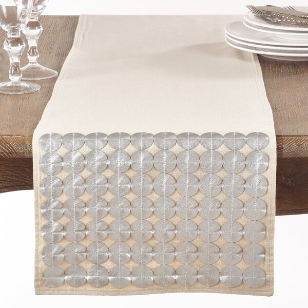 Mcbrayer Cutwork Table Runner by Gracie Oaks