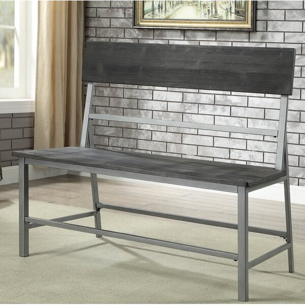 Mckain Metal Bench by Williston Forge