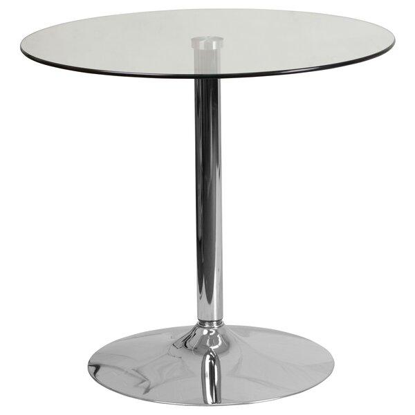 Nordstrom Pedestal Coffee Table By Orren Ellis