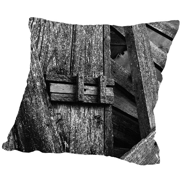 Deadbolt Throw Pillow by East Urban Home