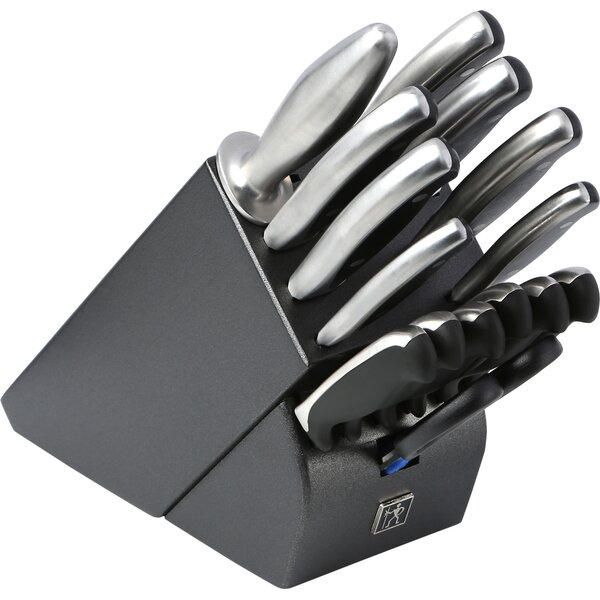Forged Synergy 16 Piece Knife Block Set by J.A. Henckels International