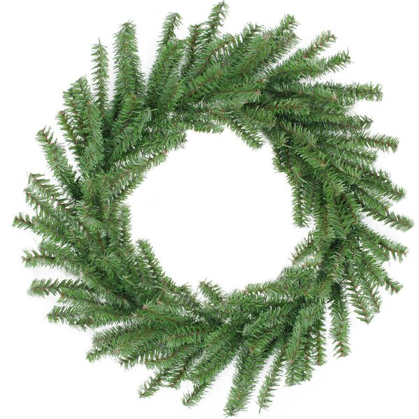 16 Mini Pine Artificial Christmas Wreath with Unlit by The Holiday Aisle