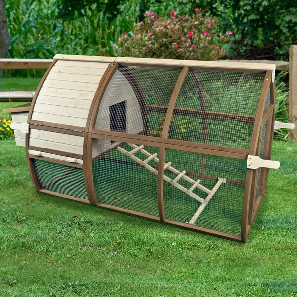 Backyard Chicken Coop/House Open Air Hutch by Ware Manufacturing