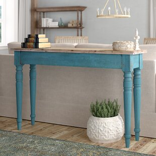Review Alec Wooden Console Table By Lark Manor
