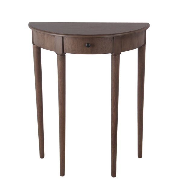 Review Slak Solid Wood Console Table