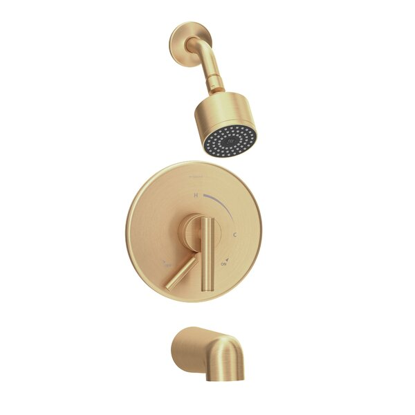 Dia Volume Tub and Shower Faucet by Symmons