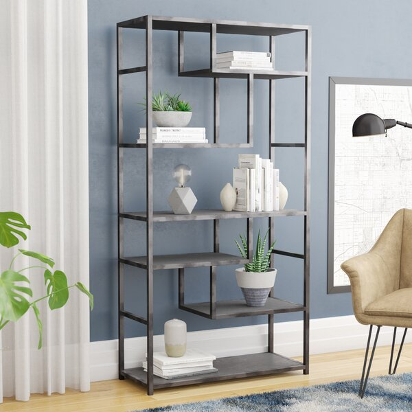 Vlad Etagere Bookcase by 17 Stories