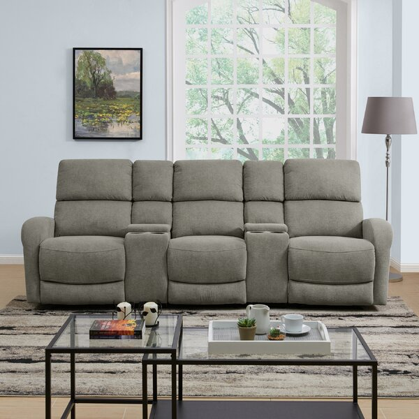 Stay On Trend This Sturtz Reclining Sofa by Winston Porter by Winston Porter