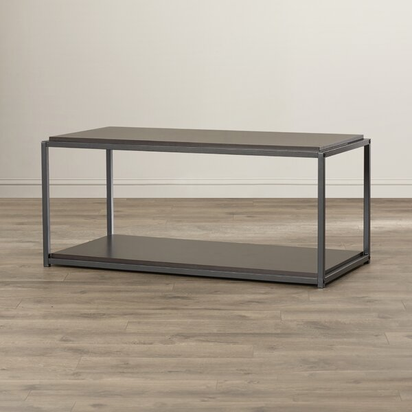 Hintz Industrial Coffee Table by Zipcode Design