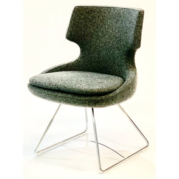 Wemoorland Twill Metal Wingback Side Chair By Wrought Studio