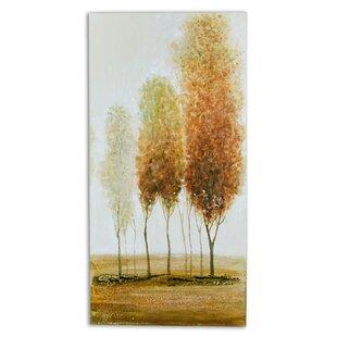 Chandelier art work wayfair autumn i artwork painting on canvas aloadofball Image collections