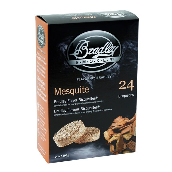 Mesquite Flavor Bisquettes (Set of 24) by Bradley Smoker
