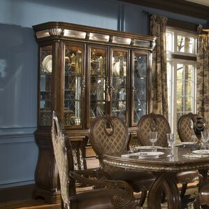 Sovereign Lighted China Cabinet by Michael Amini (AICO)