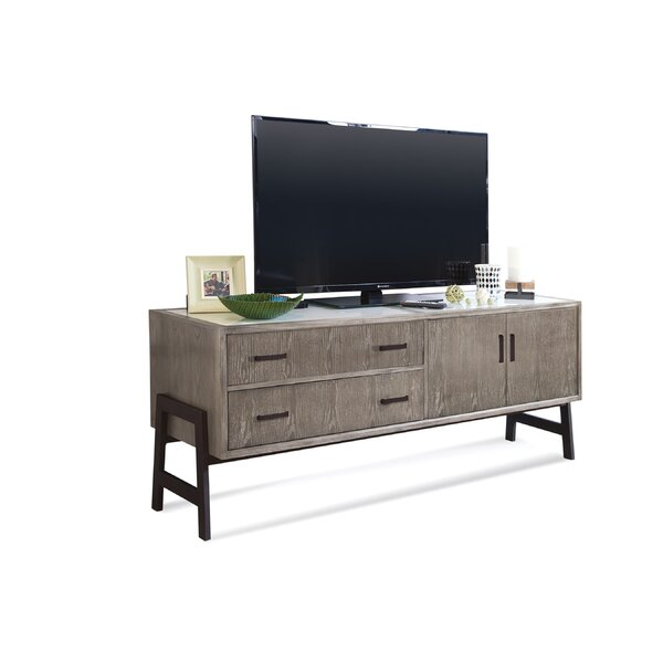 Beaupre Solid Wood TV Stand For TVs Up To 78