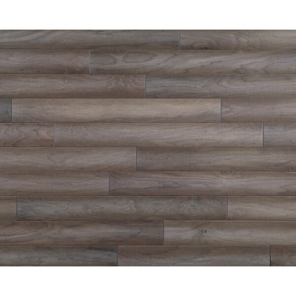 Hometown 5 Engineered Walnut Hardwood Flooring in Sandstone by Mannington