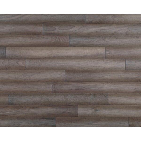 Hometown 5 Engineered Walnut Hardwood Flooring in Sandstone by Mannington