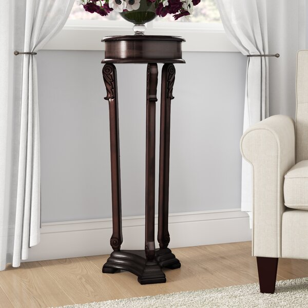 Wyton Pedestal Plant Stand By Astoria Grand